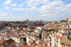 Lissabon-Panorama, Hauptstadt, Portugal Lizenzfreies Stockfoto