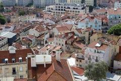 Lissabon-Panorama, Hauptstadt, Portugal Lizenzfreies Stockbild