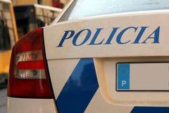 Lissabon-Polizei Lizenzfreies Stockfoto