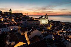 lissabon portugal lizenzfreie stockfotos