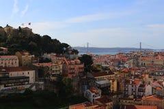 Lissabon Portugal Arkivfoton