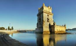 Lissabon Portugal, Belem torn Royaltyfria Foton