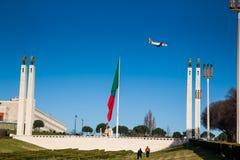 LISSABON PORTUGAL - Februari 02, 2011: Park'snamnet gavs i heder av Edward VII av Förenade kungariket Fotografering för Bildbyråer