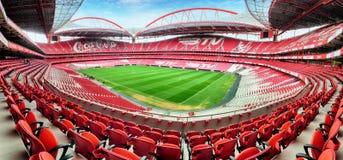LISSABON PORTUGAL - FEBRUARI 18: Stadion och sport Lissabon e Benf Arkivbilder