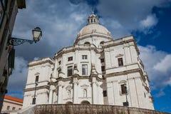 LISSABON, PORTUGAL - 27. Januar 2011: Haube, Igreja De Santa Engracia, Lissabon Lizenzfreie Stockfotografie