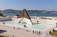 Lissabon Portugal - Maj 15: Museu gör Combatente i Lissabon på Maj 15, 2014 Den nationella monumentet till portugisen tjäna som s royaltyfria foton