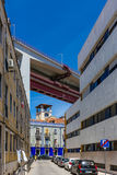 Lissabon, Portugal - Mei 20, 2917: Zeer populair Art Centrum LX Fac Royalty-vrije Stock Afbeelding