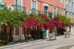 Lissabon, Portugal - Mei 20, 2917: Zeer populair Art Centrum LX Fac Stock Afbeelding