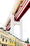 Lissabon, Portugal - Oktober 29, 2016 - beroemde brug 25 DE Abril Royalty-vrije Stock Afbeelding