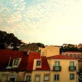 LISSABON, PORTUGAL - Oktober 31, 2016: Het overzien van oud Europa c Stock Fotografie