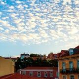 LISSABON, PORTUGAL - Oktober 31, 2016: Het overzien van oud Europa c Stock Afbeeldingen