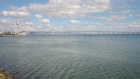 Lissabon Portugal - September 18, 2006: Vasco da Gama torn och b Royaltyfri Fotografi