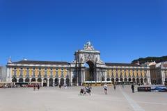 Lissabon-Quadrat Lizenzfreie Stockfotografie