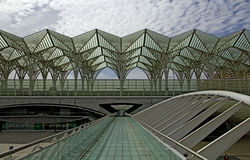 Lissabon - Railway Station Royalty Free Stock Photography