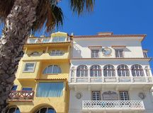Lissabon Riviera Cascais portugal Arkivfoton
