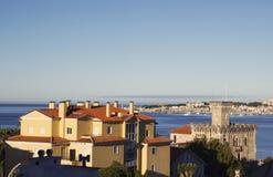 Lissabon Riviera Cascais Reis in Portugal Stock Foto's