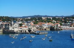 Lissabon Riviera Cascais Reis in Portugal Royalty-vrije Stock Afbeeldingen