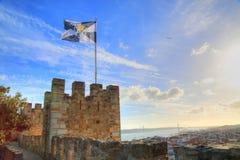 Lissabon Rossio fyrkant royaltyfri fotografi