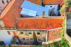 Lissabon Rossio fyrkant arkivfoton