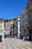 Lissabon-Schloss Stockfoto