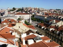 Lissabon sikt Arkivfoton