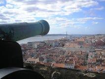 Lissabon sikt Fotografering för Bildbyråer