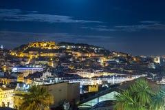 Lissabon-Skyline Lizenzfreies Stockfoto