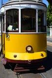 Lissabon spårvagn 542 Arkivbilder