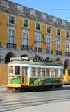 Lissabon spårvagn Royaltyfria Foton