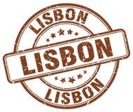 Lissabon stämpel vektor illustrationer