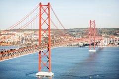 Lissabon-Stadt in Portugal Lizenzfreies Stockfoto