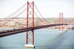 Lissabon-Stadt in Portugal Lizenzfreie Stockbilder