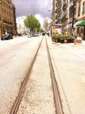 Lissabon-Straße Lizenzfreie Stockbilder