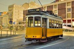 Lissabon-Straßen-Auto Stockfotografie