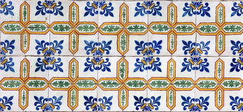 Lissabon tegelplattor royaltyfri fotografi