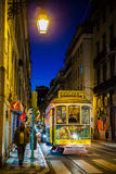 Lissabon-Tram Stockbild