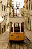 Lissabon Tran Lizenzfreie Stockfotos