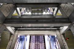 Lissabon tunnelbana Royaltyfria Foton