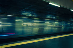 Lissabon tunnelbana Royaltyfri Fotografi