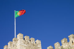 Lissabons Schloss stockfoto