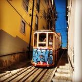 Lissabons spårvagn Royaltyfri Fotografi