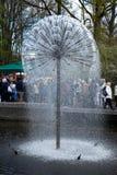 Lisse Nederländerna - April 17: Keukenhoffen Tulip Gardens på Royaltyfria Bilder