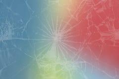 Lissez le fond abstrait de gradient avec la bannière graphique numérique de couleurs jaunes pourpres de blanc l'effet du verre ca photos stock