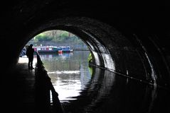 Lisson Grove Tunnel on the Regent's Canal Royalty Free Stock Photography