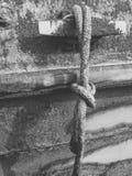 Listón de la cuerda y del barco imagen de archivo libre de regalías