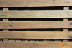Listón de madera Imagen de archivo