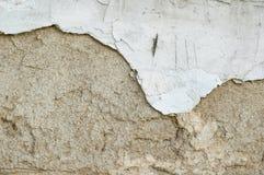 Listón - pared vieja del grunge Imagenes de archivo