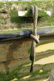 Listón y cuerda del barco Imágenes de archivo libres de regalías