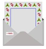List Święty Mikołaj Zdjęcie Royalty Free