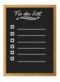 List. Stock Image